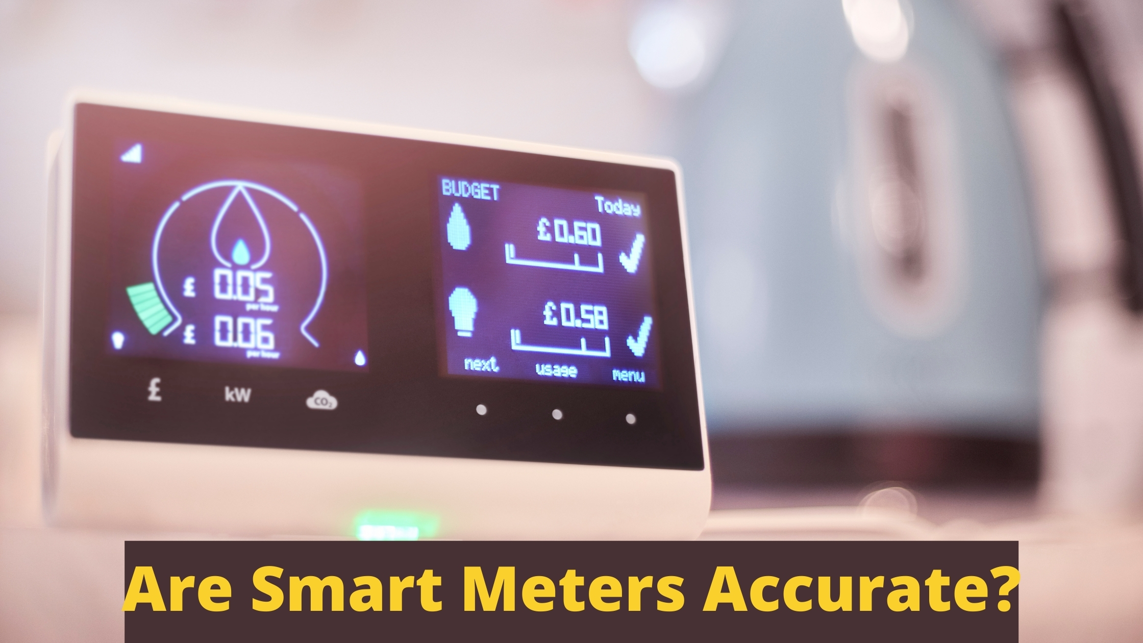 Are Smart Meters Accurate